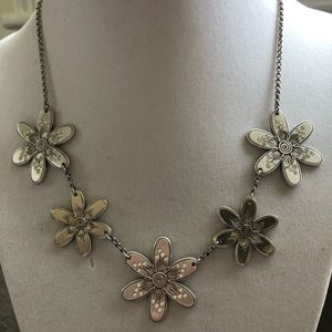 Brighton Reversible Flower Necklace